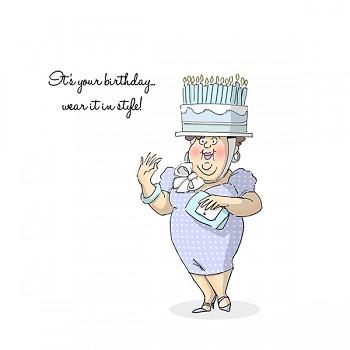 Cling razítko / Birthday Hat Set