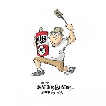Stempel gumovy / Bug Buster