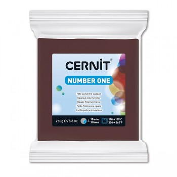 Cernit 250g / brown / 800