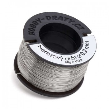 stainless wire 0,2 / 50g