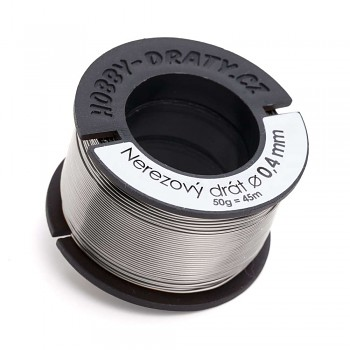 Stainless wire 0,4 / 50g