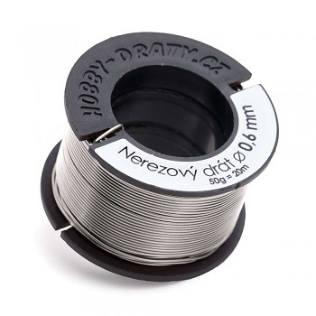 stainless wire 0,6 / 50g