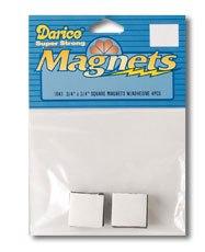 Samolepiace magnety 18x18mm / 4ks