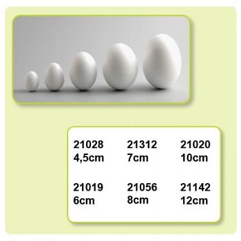 Polystyrénové vajíčka 5ks / 4,5 cm
