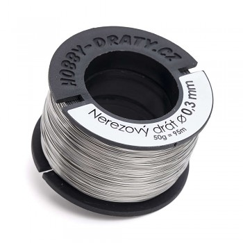 stainless wire 0,3 / 50g