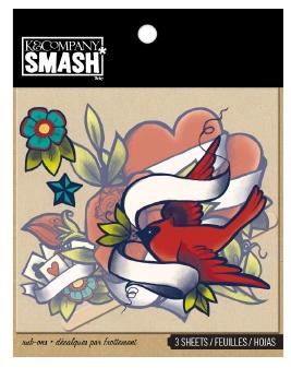 SMASH Classic tattoo rubons / transférové obrázky