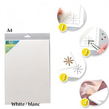 Transférový papier A4 na Hot-Fix / biely