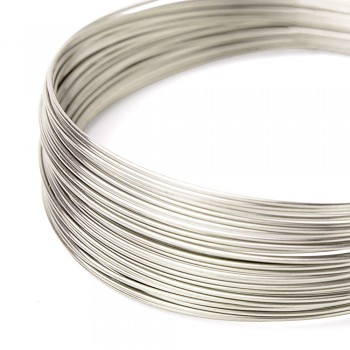Silver plated wire 0,4 /5m
