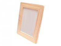Wooden frame, rounded / 15x21cm