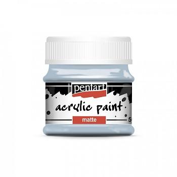Pentart akrylová farba matná / country modrá