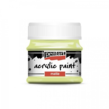 Pentart akrylová farba matná / limetta
