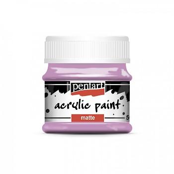 Pentart akrylová farba matná / raspberry