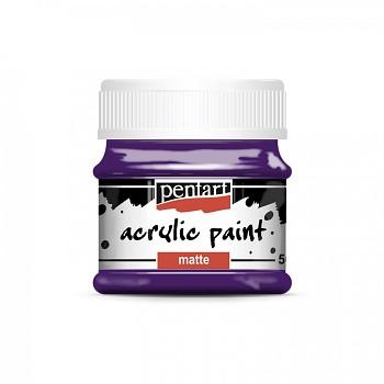 Pentart akrylová farba matná / amethyst