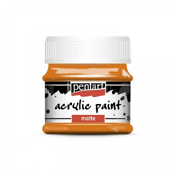 Pentart akrylová farba matná / orange