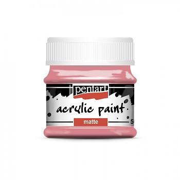 Pentart akrylová farba matná / punch