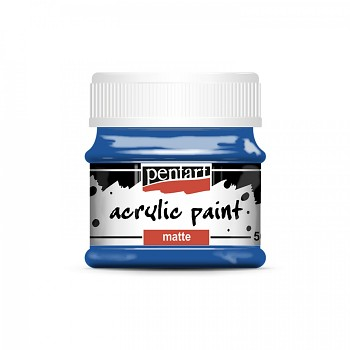 Pentart akrylová farba matná / blue