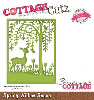 Kovová šablóna - Willow Scene