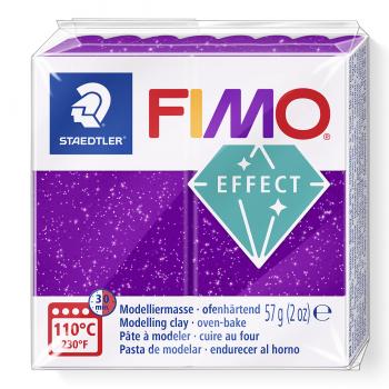 Fimo efekt glitrová fialová (602)