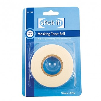 27m Masking Tape Roll (18mm)