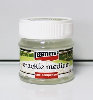 Pentart / Krakelovací lak 1-krokový / 50ml
