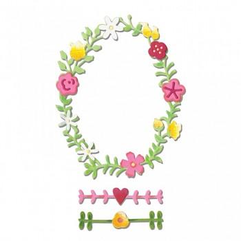 Thinlits /3ks / Floral Wreath 2